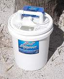 Aerator Bait Bucket Blue